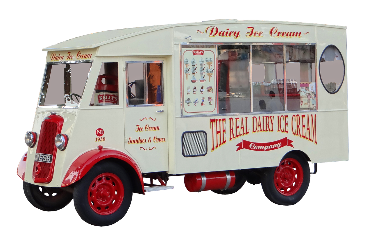 THE HISTORY OF THE ICE CREAM TRUCK